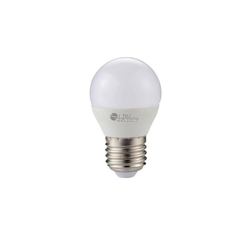 LAMPARA LED ESFERICA 6W E27 510LM 180º 6000K