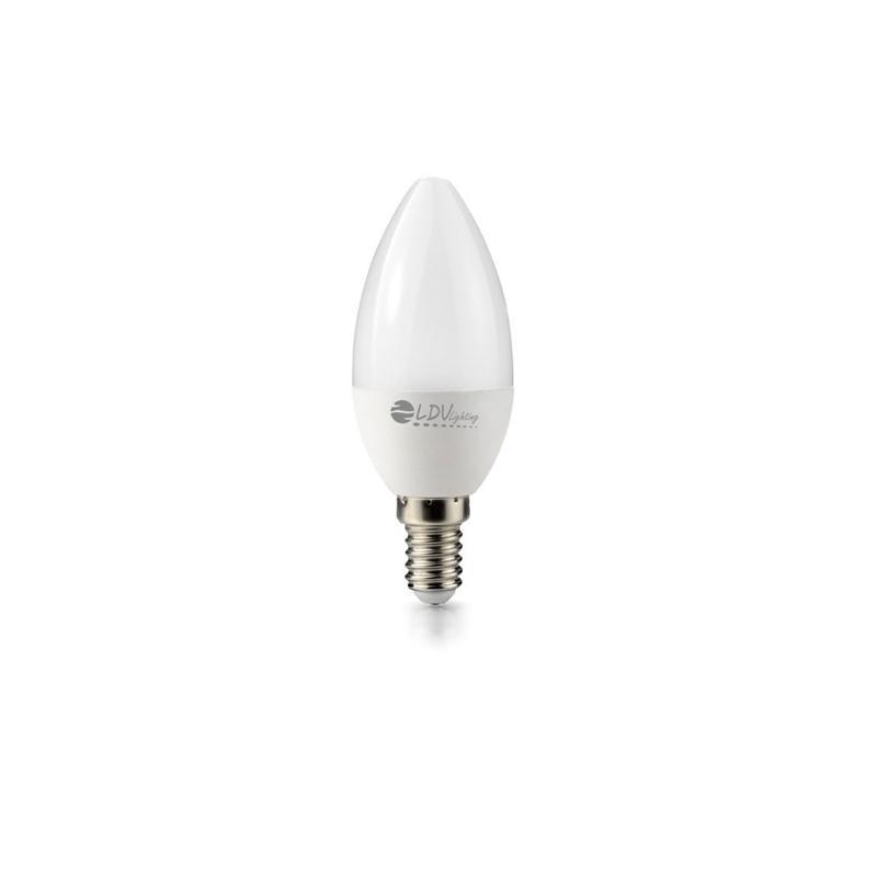 LAMPARA LED VELA 6W E14 504LM 270º 4500K