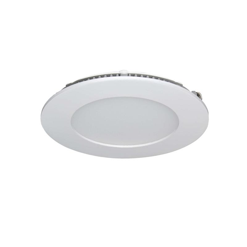 LAMPARA LED EMPOTRABLES 6W 465LM 180º 4500K BLANCO