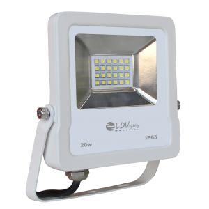 PROYECTOR LED SMD 20w 1700lm 120º 3000K IP65 BLANCO