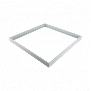 MARCO DE SUPERFICIE PARA PANEL 59.5x59.5 cm BLANCO