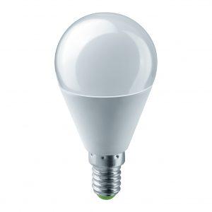 LAMPARA LED ESFERICA 12-24v DC 06w E14 528lm 180º 3000K