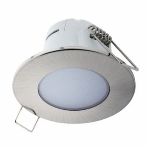 EMPOTRABLE LED REDONDO 5w 350LM IP65 NIKEL