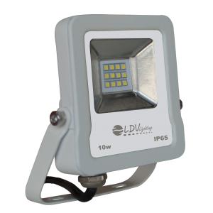 PROYECTOR LED SMD 10w 900lm 120º 6000K IP65 BLANCO