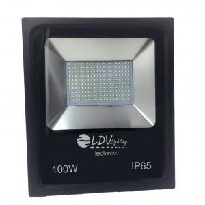 PROYECTOR LED SMD 100w 8800lm 120º 3000k IP65 NEGRO