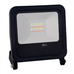 PROYECTOR LED SMD 30w 2250lm 120º RGB IP65 NEGRO