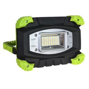 PROYECTOR LED 10w 800lm 6000K IP54 C/BATERIA RECARGABLE NEGRO/VERDE